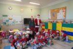 Wizyta Mikołaja w przedszkolu.